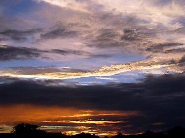Arizona Sunset ~2 by Kimberly Chadwick