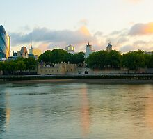 The Cityscape Sunrise: London, UK. by DonDavisUK