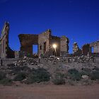 Farina ruins by Paul  Francis