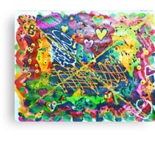 MY ODE TO FOX MULDER Canvas Print