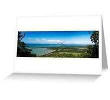 Dunk Island- View from Bicton Hill Greeting Card