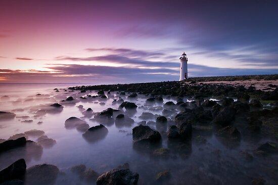 Mmmmm....... Nice Light! - Port Fairy, Victoria by Liam Byrne