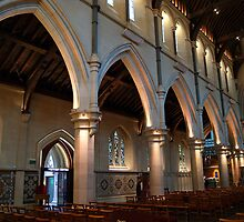 Christchurch Cathedral interior by Jan Stead JEMproductions