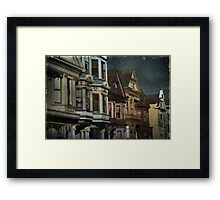 Row Framed Print