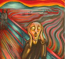 "After ""The Scream"" My version by Catherine  Howell"