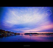 Sunset @ Lake District - Windermere by lijomanarcad
