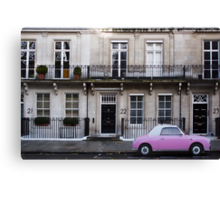 Barbie Pink in London Canvas Print