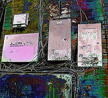 Colorful OldTown Phone Boxes by Nilla Haluska