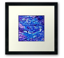 Flowing freely Framed Print
