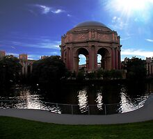 Palace of Fine Arts by Cupertino