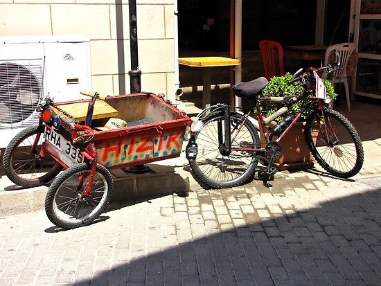 Pedal Power Famagusta Style by John Thurgood