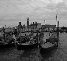 Venetian gondolas by mansfic