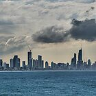 Surfers Paradise From Elsewhere by paulmcardle