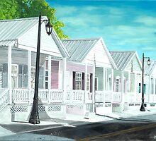 Key West Cottages by John Schuller