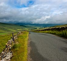 Baggamans Road  (Yorks Dales) by Trevor Kersley