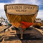 Golden Spray by Geoff Carpenter