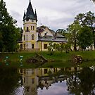A small palace on the water levels by MarekM