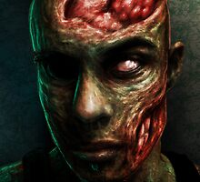 BRAINS!!!! by Javier Antunez