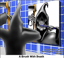 A Brush With Death by Londons Times Cartoons by Rick  London