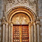 Calvia church doorway and arch. by Tigersoul