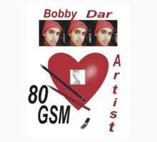 Bobby Dar: A big heart;Two Pencils and lots of Talent by Alex Gardiner