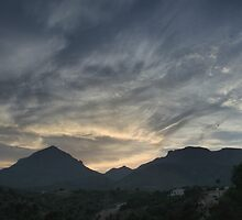 La Nucia, Spain - Sunset HDR by Allen Lucas