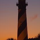 St. Augustine Lighthouse at Sunset by Rick Montgomery