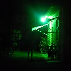 Mysterious Green Light by Keith Stephens