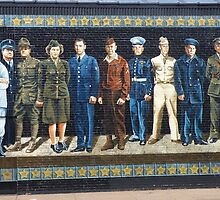 Ashland Mural Walk: The Veterans by AuntieJ