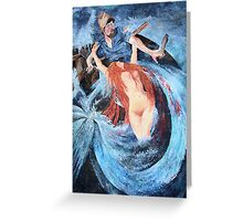 Seductress of the Sea Greeting Card