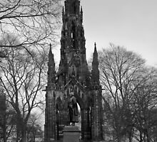 Scott Monument - Edinburgh by ShutterBuggz