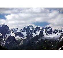 Stubaier Alps Photographic Print