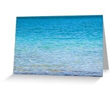 Mull turquoise Greeting Card