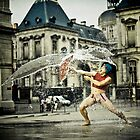 Freak bath by Etienne RUGGERI Artwork eRAW