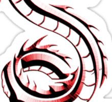 Style of The Red Dragon Sticker