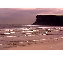 View to Saltburn Scar Photographic Print