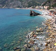 Monterosso - Cinque Terre, Italy by Ruth Durose