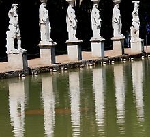 At Hadrian's Villa, Tivoli by Indrani Ghose