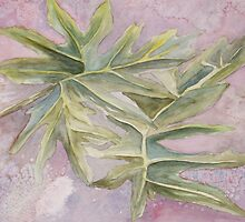 Abstract Leaves by Rosie Brown