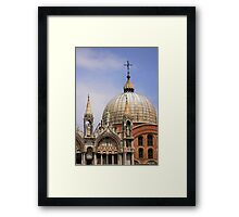 St Mark's Basilica Framed Print