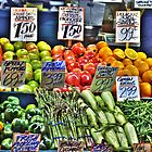 Market Fruit & Veggies by lincolngraham