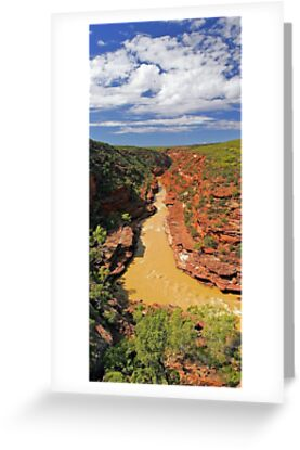 Murchison River Gorge - Western Australia  by EOS20