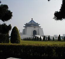 Chaing Kai-shek Memorial Hall by AJ Belongia