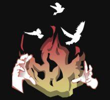 Phoenix reborn from Fire by bubbleboy12