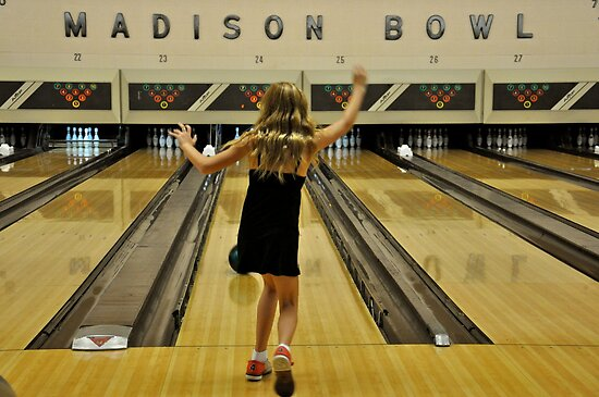 Hoping For That Strike! by Ainsley Kellar Creations