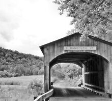 Vermont Covered Bridge by Lyana Votey