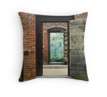 Exit Only Throw Pillow