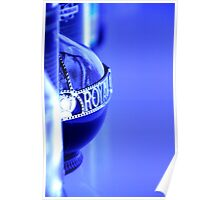 Royal Blue Poster