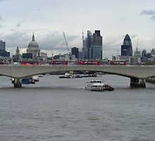 London Skyline From Westminister Bridge by ZenVikram