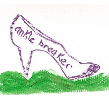 Anticipated Ankle-breaker Photographic Print